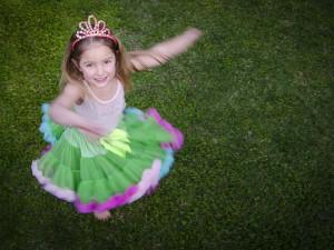 Budding ballerina Lucy